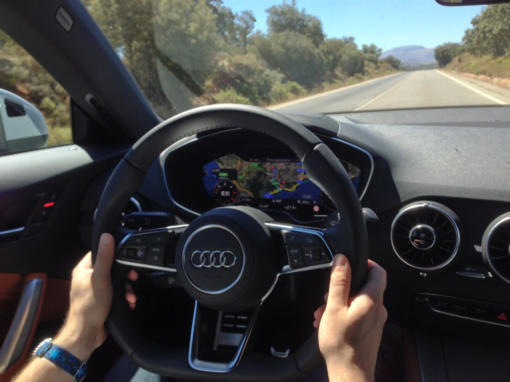 2016 Audi TT: Driving With Its Virtual Cockpit A Vision Of ...