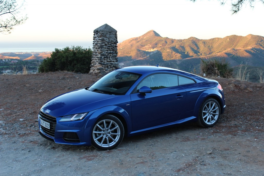 2016 audi tt tts first drive spain september 2014. Black Bedroom Furniture Sets. Home Design Ideas