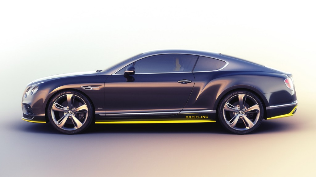 Bentley Rolls Out Continental GT Speed Breitling Jet Team Series