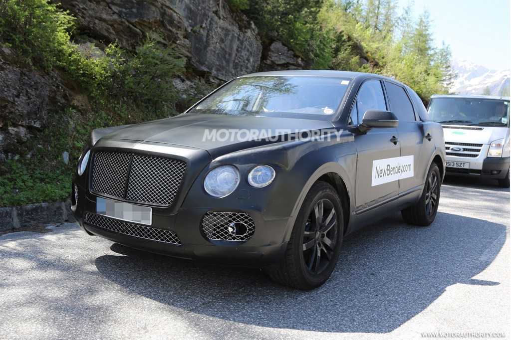 2016 Bentley Suv Spy Shots Rolls Royce Bentley Pinterest