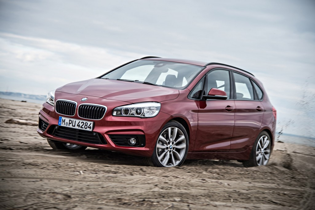 xdrive all wheel drive added to bmw 2 series active tourer video