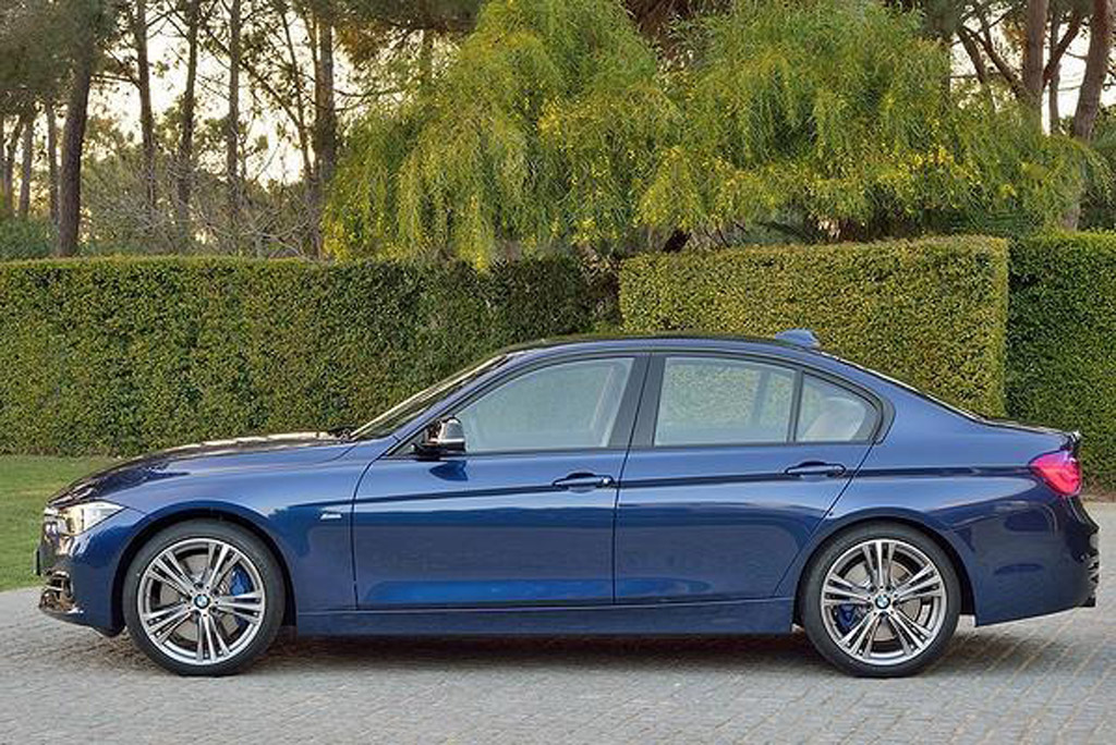 2016 bmw 3 series benefits from significant updates under the skin. Black Bedroom Furniture Sets. Home Design Ideas