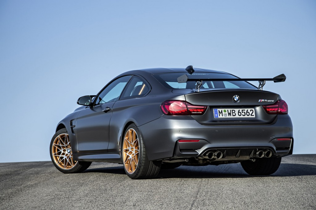 2016 bmw m4 gts comes with water injection system 493. Black Bedroom Furniture Sets. Home Design Ideas