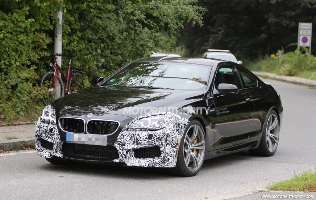 2016 bmw m6 spy shots. Black Bedroom Furniture Sets. Home Design Ideas