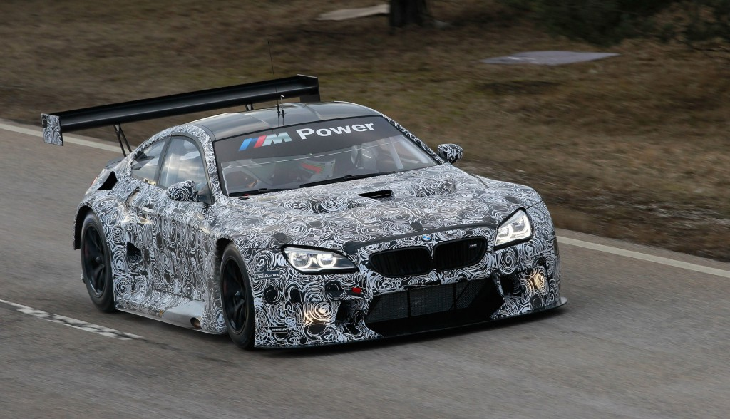 2016 bmw m6 gt3 race car starts testing. Black Bedroom Furniture Sets. Home Design Ideas