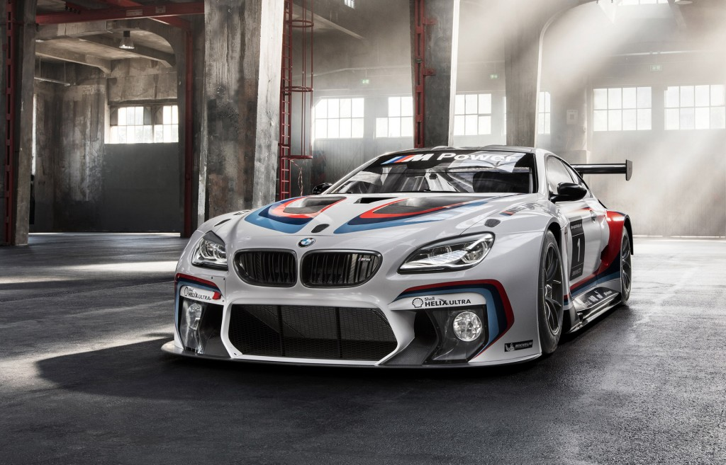 2016 bmw m6 gt3 races into frankfurt. Black Bedroom Furniture Sets. Home Design Ideas