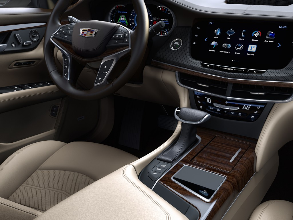 2016 cadillac ct6 at new york auto show live photos. Black Bedroom Furniture Sets. Home Design Ideas