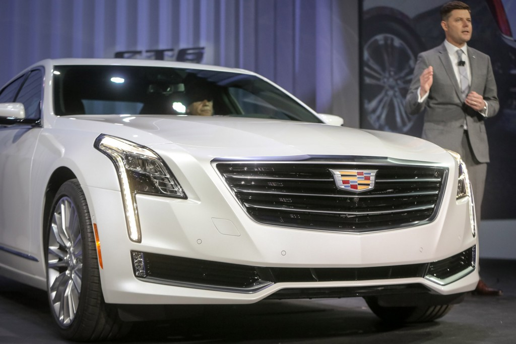 2016 Cadillac CT6 At New York Auto Show: Live Photos