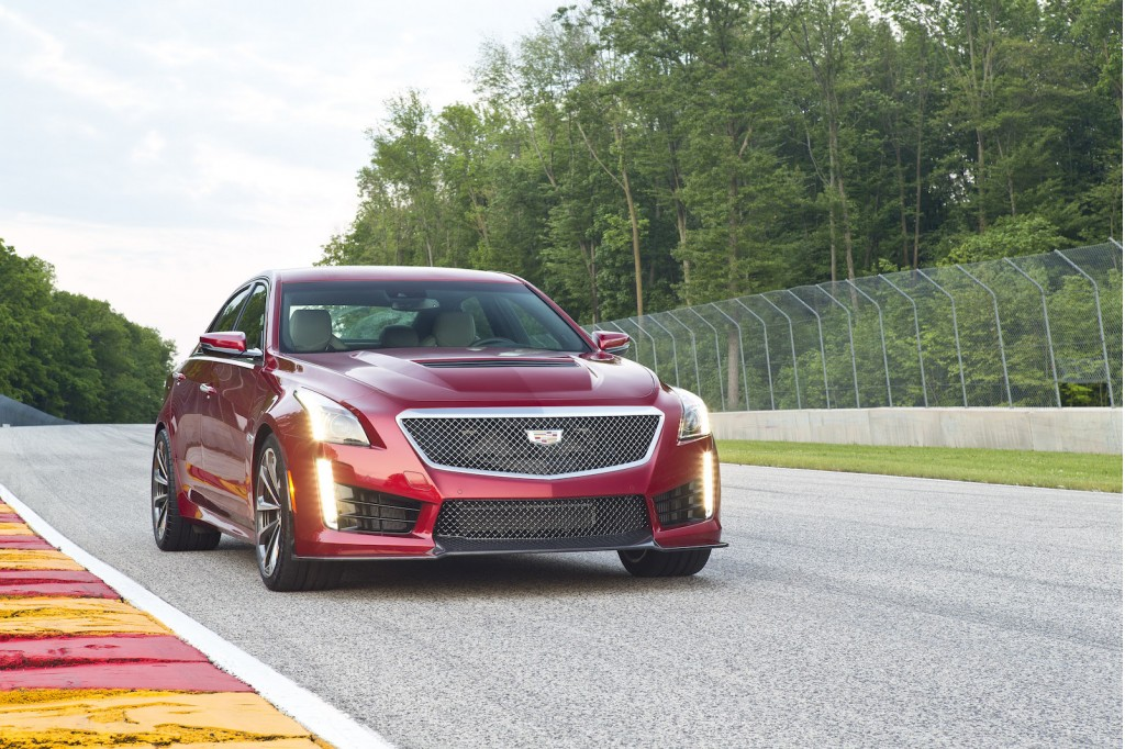 nominee 2016 cadillac cts v 2016 cadillac cts v first drive video. Black Bedroom Furniture Sets. Home Design Ideas