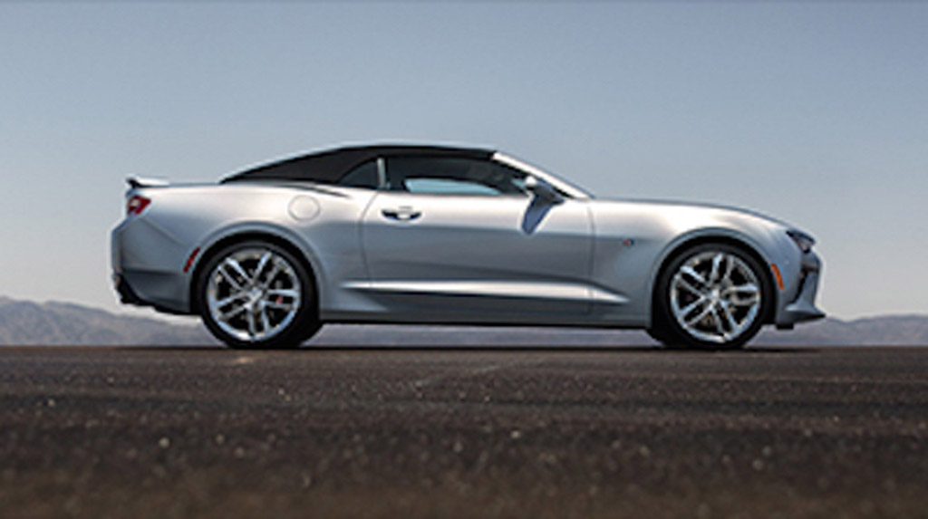 2016 chevrolet camaro convertible leaked image via camaro6. Cars Review. Best American Auto & Cars Review