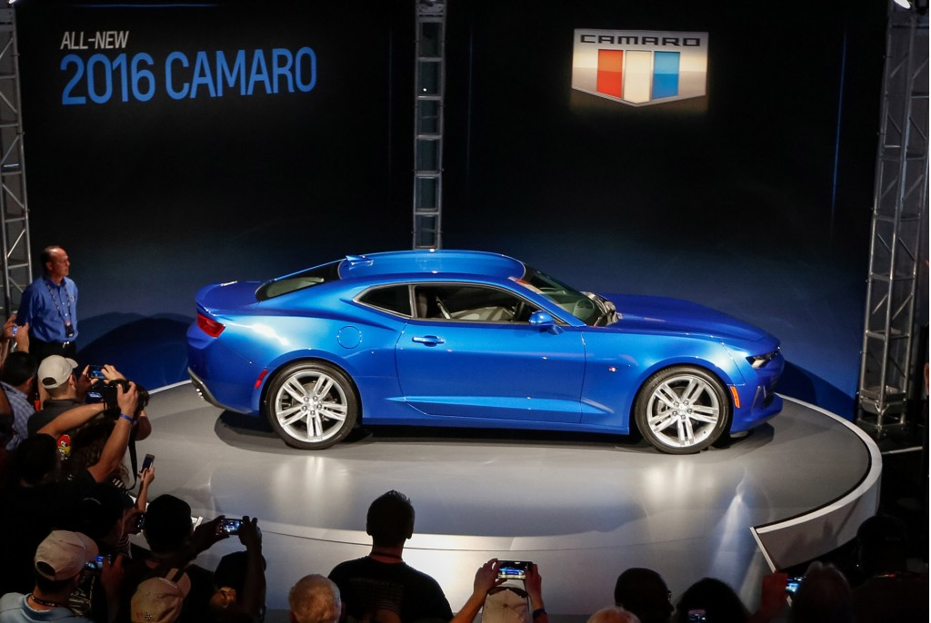 Luxury  Lansing Grand River Plant Gears Up For 2016 Chevy Camaro Production
