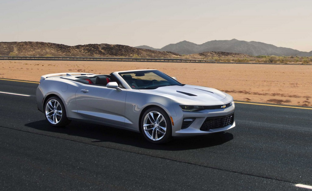 2016 Chevrolet Camaro Convertible Preview Live Photos
