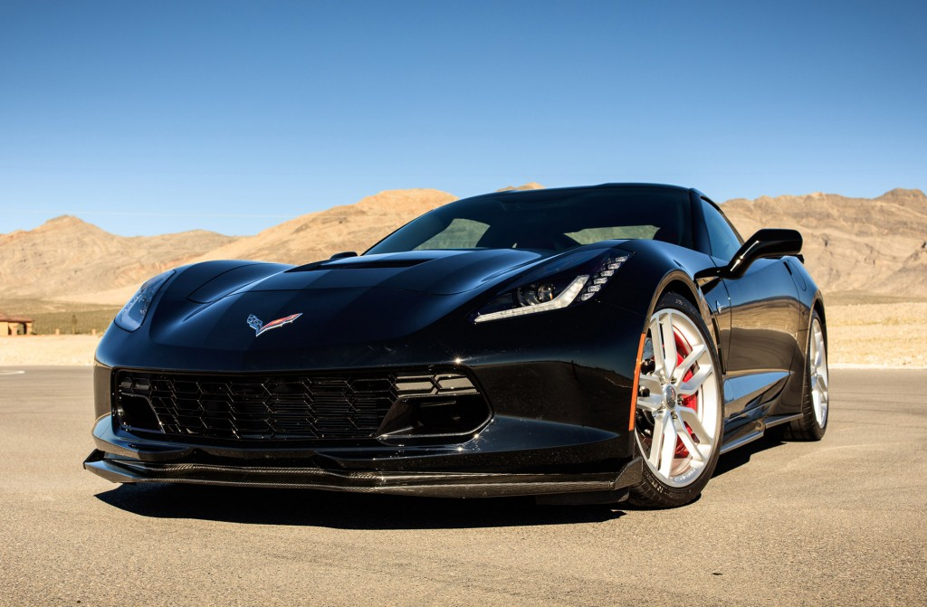 2017 Corvette Stingray Exterior Photo Jet Black Suede