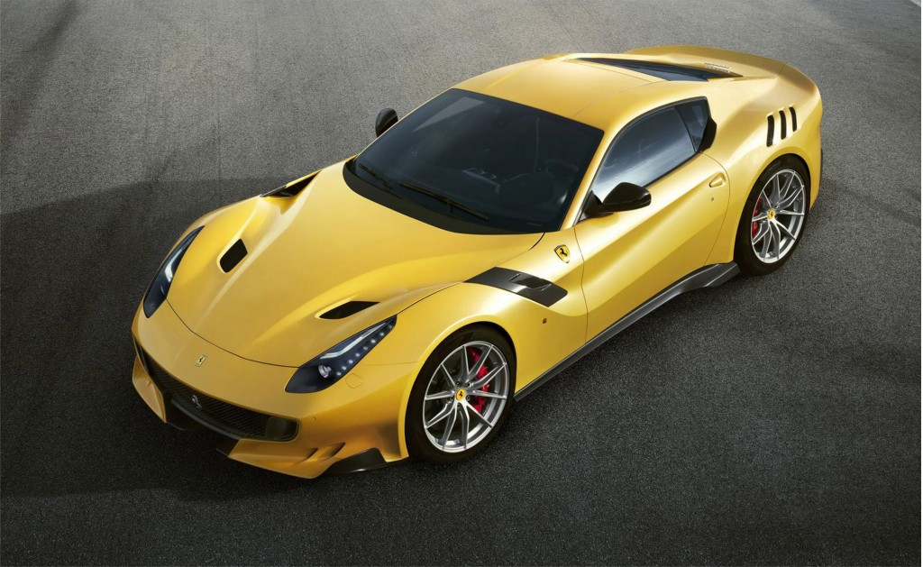 Ferrari F12 Tdf Revealed With More Power Rear Wheel Steering