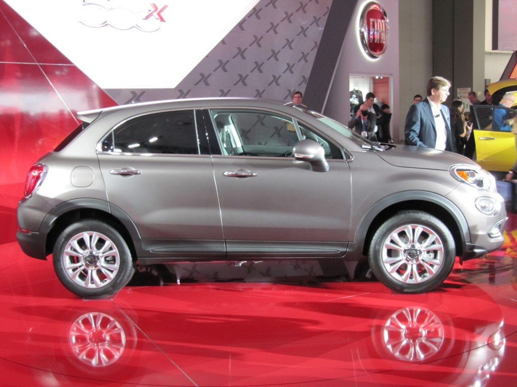 Innovative 2016 Fiat 500X Introduced At 2014 Los Angeles Auto Show