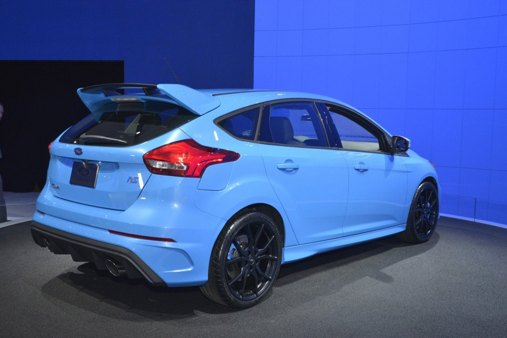 image 2016 ford focus rs 2015 new york auto show size 1024 x 683 type gif posted on. Black Bedroom Furniture Sets. Home Design Ideas