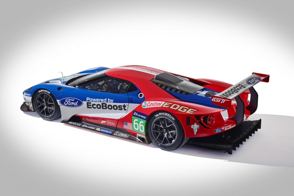 Image 2016 Ford Gt Race Car Size 1024 X 685 Type Gif