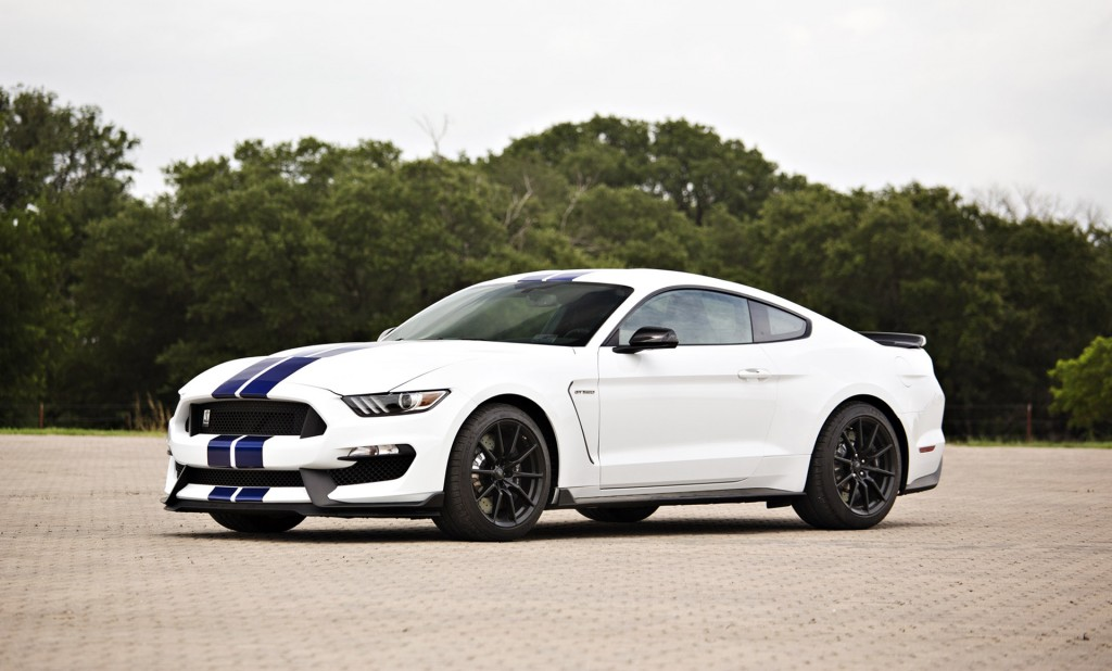ford mustang shelby gt350 signed by george w bush helps raise 885k. Black Bedroom Furniture Sets. Home Design Ideas