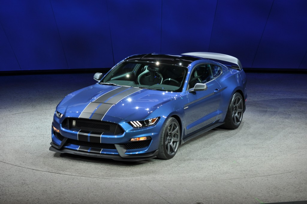 2016 Ford Mustang Shelby GT350R, 2015 Detroit Auto Show