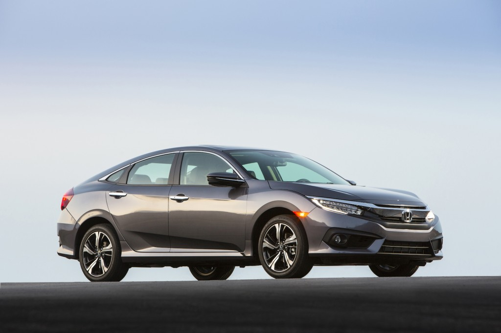 2016 honda civic sedan revealed in full priced from 19 475. Black Bedroom Furniture Sets. Home Design Ideas