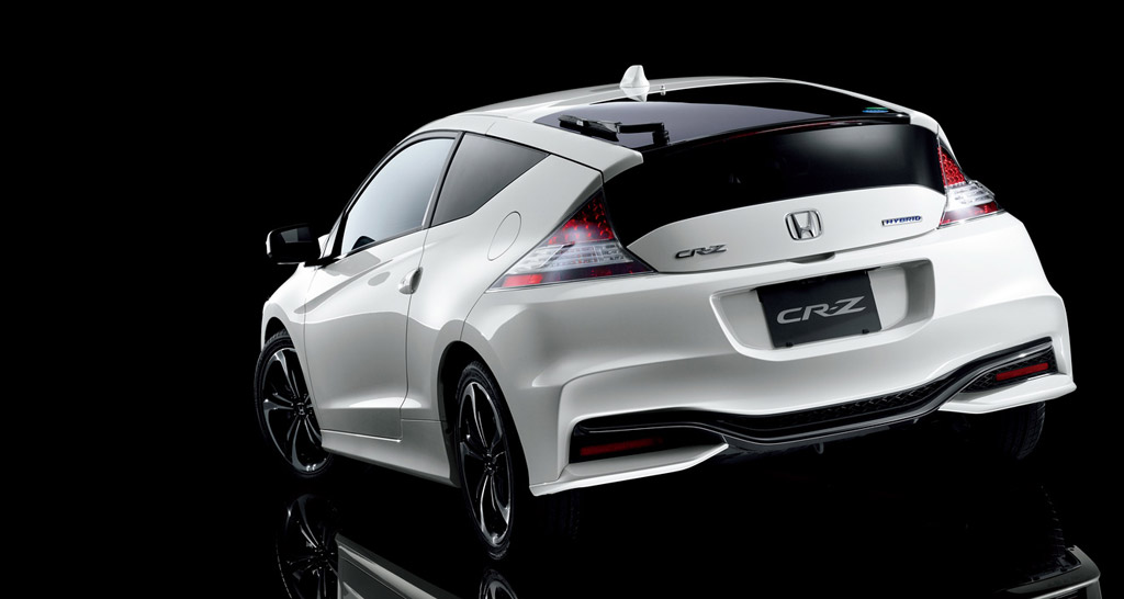 2016 honda cr z getting new look. Black Bedroom Furniture Sets. Home Design Ideas