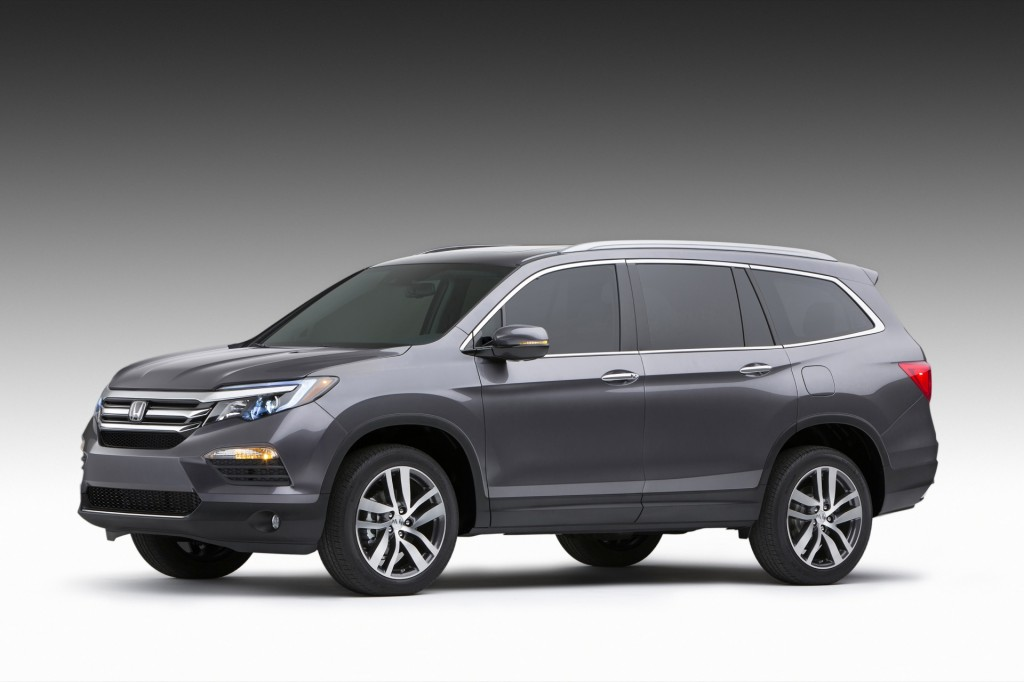 2016 Honda Pilot Pictures Photos Gallery Green Car Reports