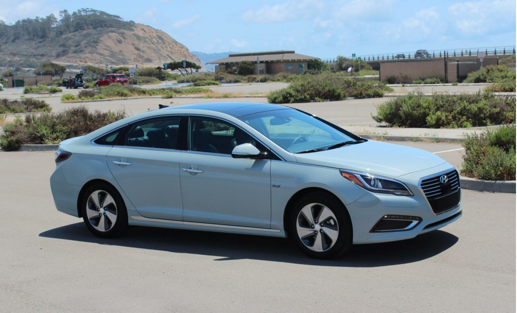 2016 Hyundai Sonata Hybrid And PlugIn Hybrid First Drive Page 4