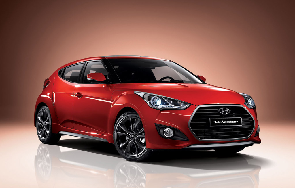 updated veloster revealed in hyundai s home market. Black Bedroom Furniture Sets. Home Design Ideas