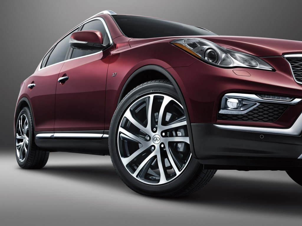 2016 Infiniti QX50 Preview: 2015 New York Auto Show