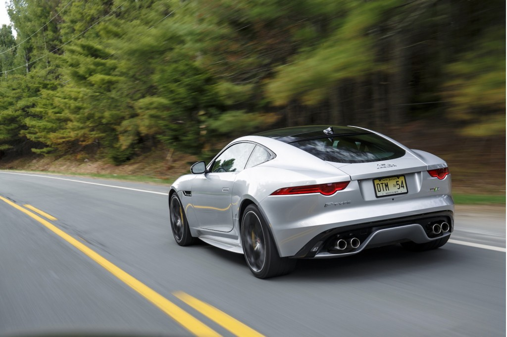 2016 jaguar f type quick drive manual and awd join the party. Black Bedroom Furniture Sets. Home Design Ideas