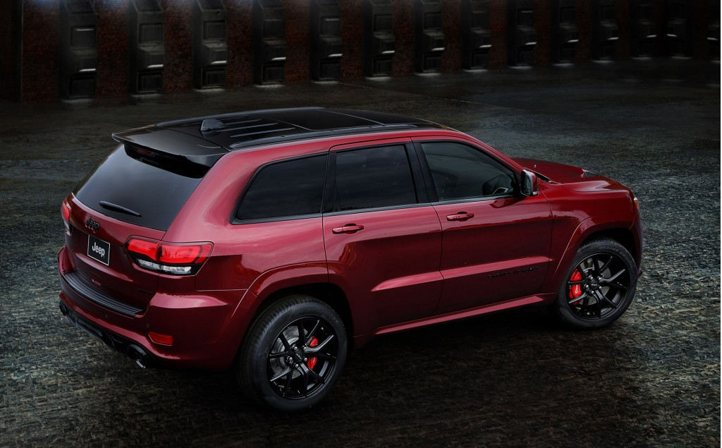 Awesome Image 2016 Jeep Grand Cherokee SRT Night Size 1024 X