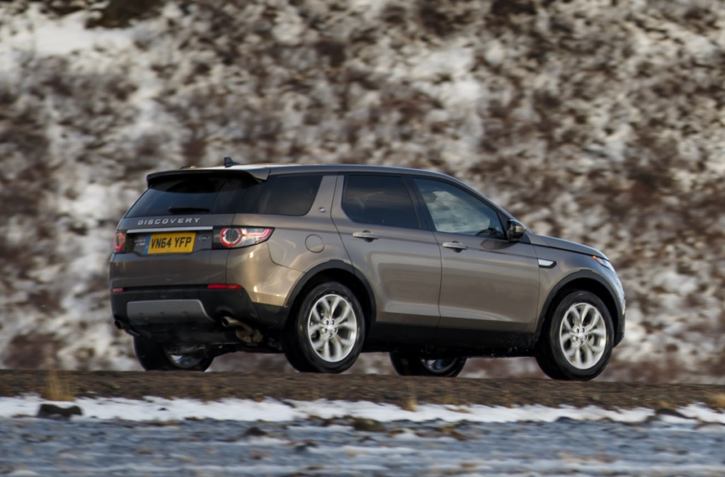 image 2016 land rover discovery sport first drive january 2015. Black Bedroom Furniture Sets. Home Design Ideas