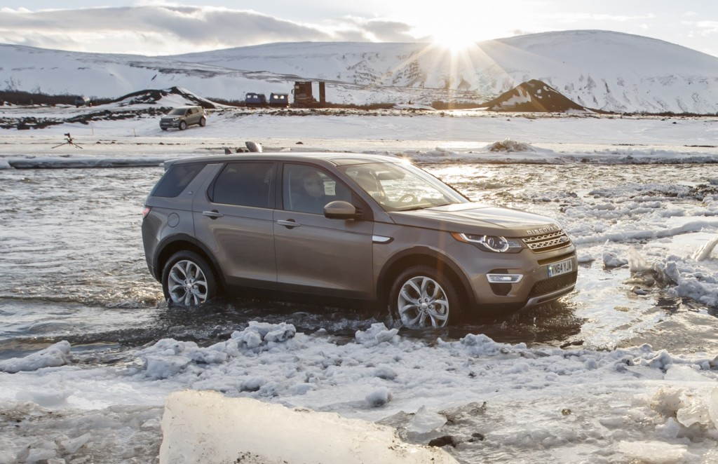 2016 land rover discovery sport first drive january 2015. Black Bedroom Furniture Sets. Home Design Ideas