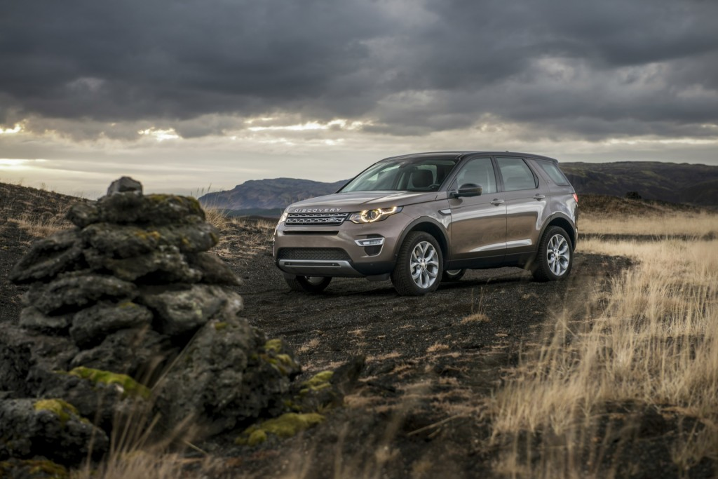 2016 land rover discovery sport video road test. Black Bedroom Furniture Sets. Home Design Ideas