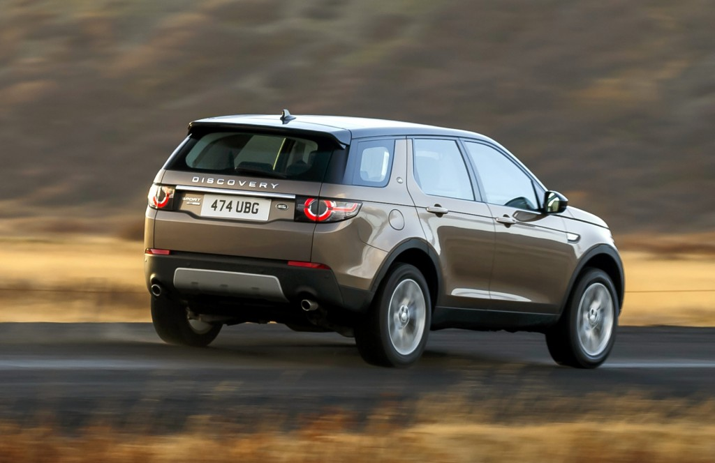 2016 land rover discovery sport photo gallery. Black Bedroom Furniture Sets. Home Design Ideas