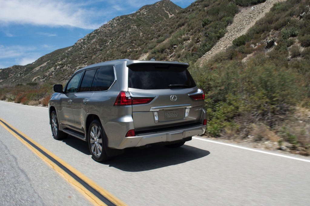 refreshed 2016 lexus lx 570 suv bows at pebble beach. Black Bedroom Furniture Sets. Home Design Ideas