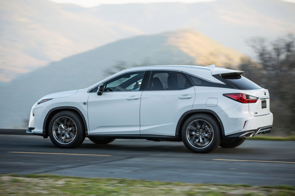 Image: 2016 Lexus RX 350 F Sport, size: 1024 x 682, type: gif, posted