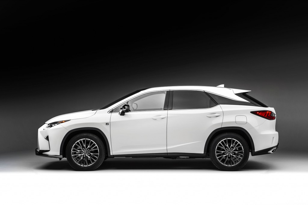 2016 lexus rx 350 f sport first drive page 3. Black Bedroom Furniture Sets. Home Design Ideas