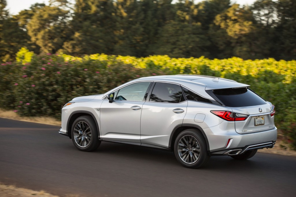 2016 lexus rx 350 f sport first drive. Black Bedroom Furniture Sets. Home Design Ideas