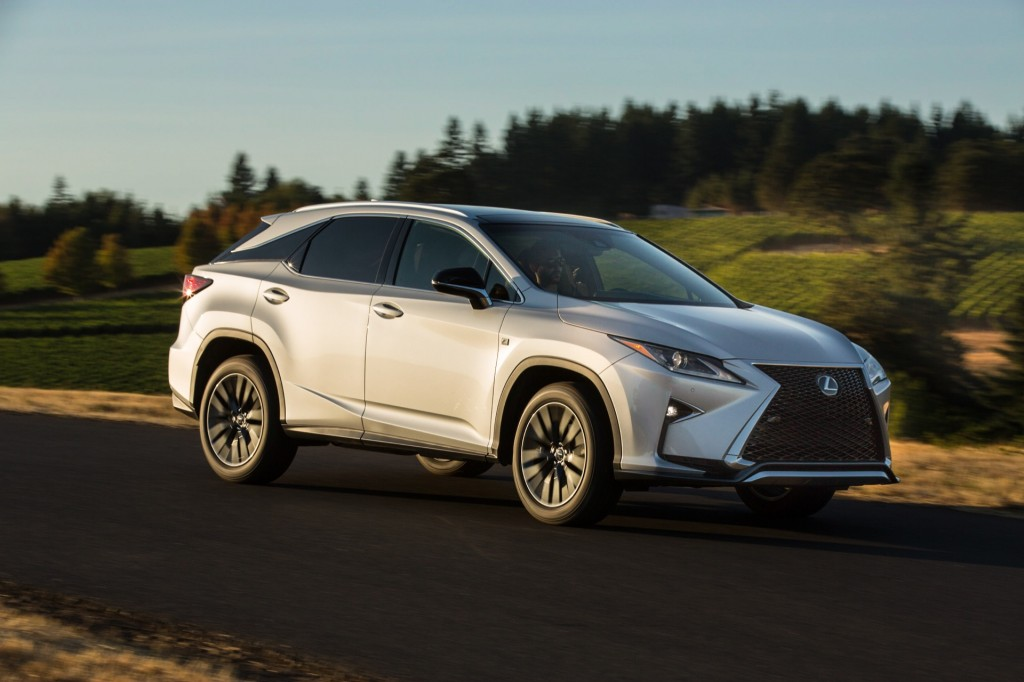 2016 lexus rx 350 f sport first drive page 2. Black Bedroom Furniture Sets. Home Design Ideas