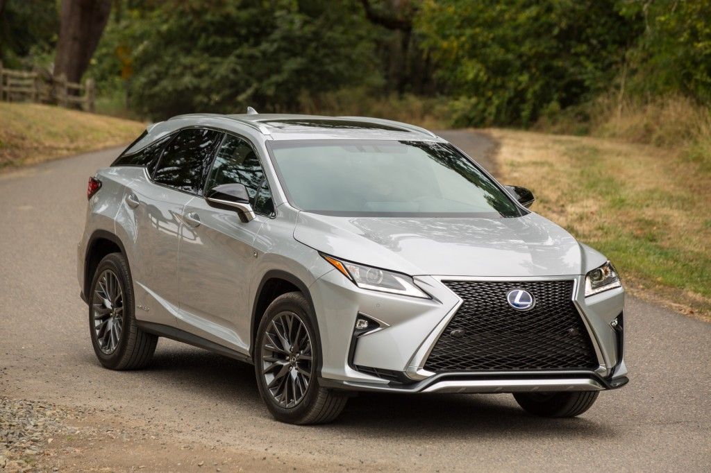 2016 lexus rx hybrid f sport first drive. Black Bedroom Furniture Sets. Home Design Ideas
