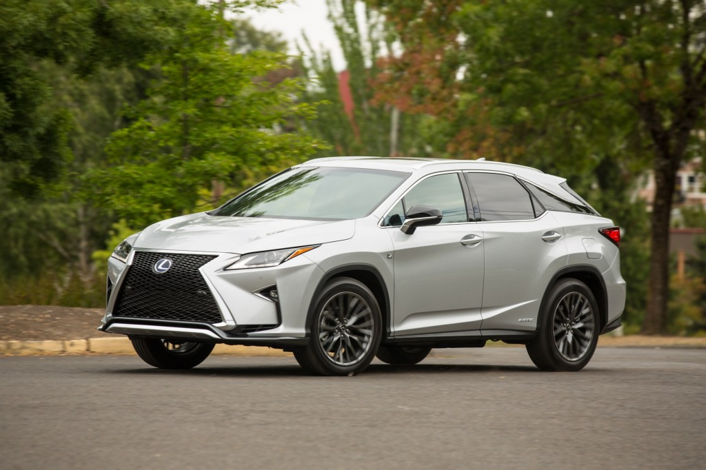 2016 lexus rx hybrid f sport first drive page 2. Black Bedroom Furniture Sets. Home Design Ideas