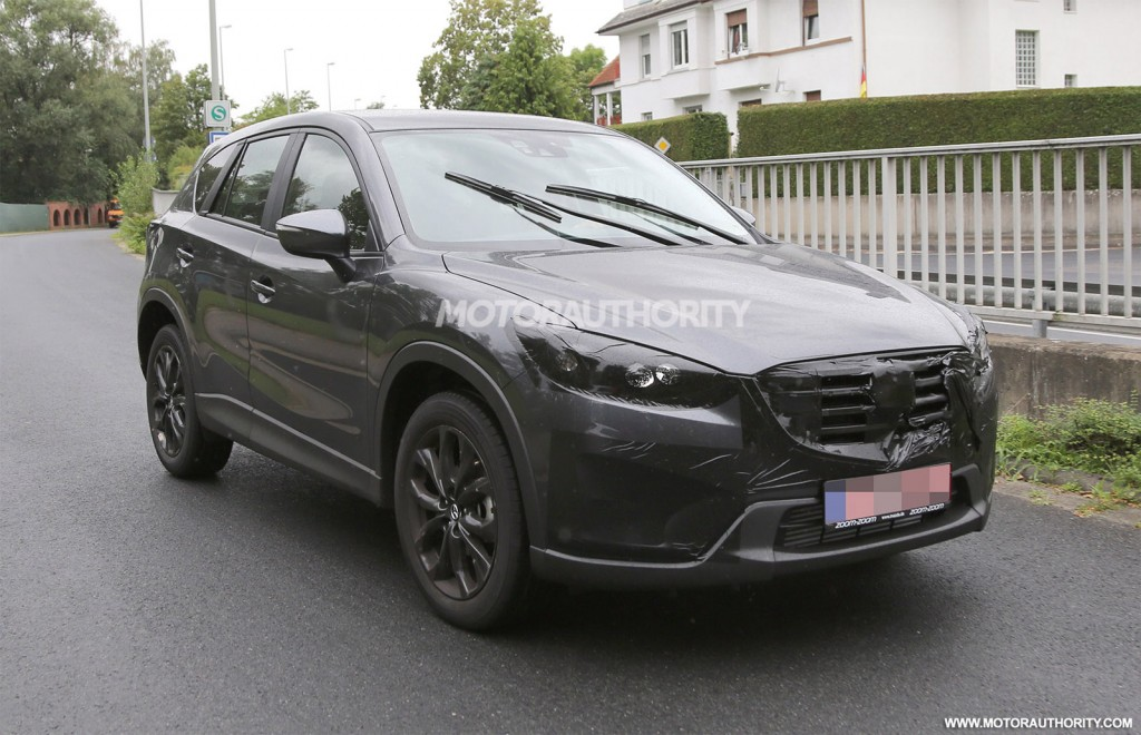 2016 mazda cx 5 spy shots. Black Bedroom Furniture Sets. Home Design Ideas