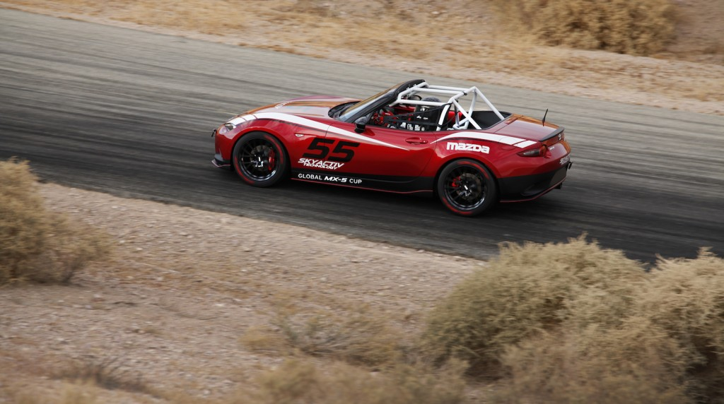 mazda announces new global mx 5 cup race series at sema. Black Bedroom Furniture Sets. Home Design Ideas