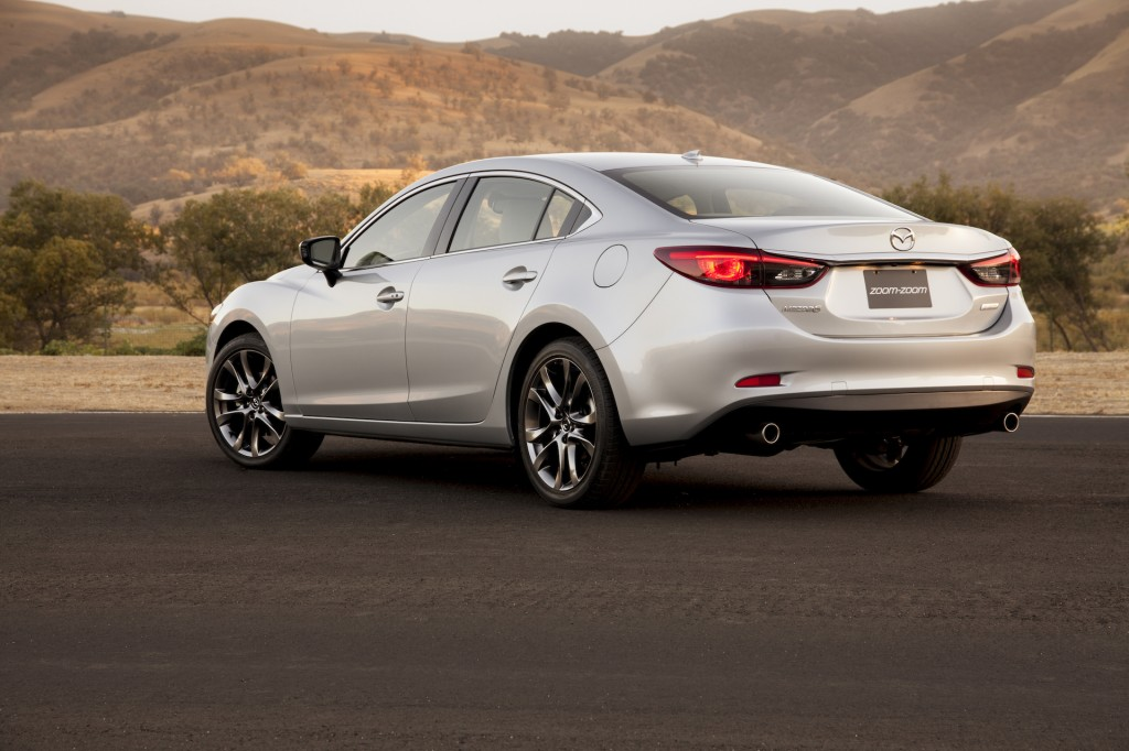 2016 mazda 6 and cx 5 receive some updates. Black Bedroom Furniture Sets. Home Design Ideas