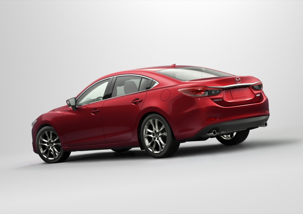 2016 mazda 6 inherits mazda 3 infotainment system new face live photos. Black Bedroom Furniture Sets. Home Design Ideas