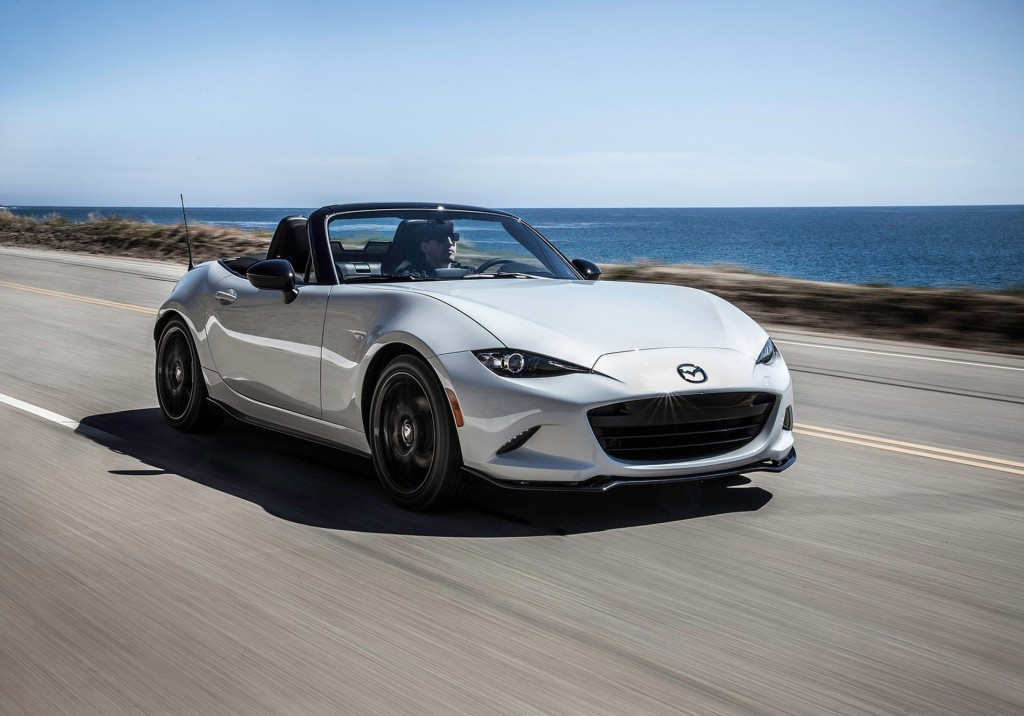 2016 mazda mx 5 club debuts at new york auto show live photos. Black Bedroom Furniture Sets. Home Design Ideas