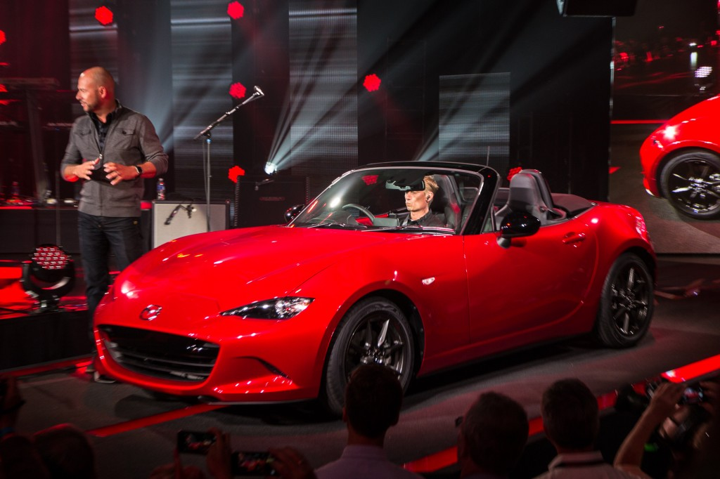 Popular 2016 Mazda MX5 Miata Unveiled Live Photos Amp Video