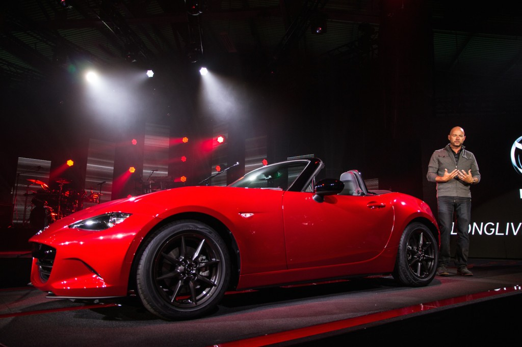 Awesome 2016 Mazda MX5 Miata Live Photos