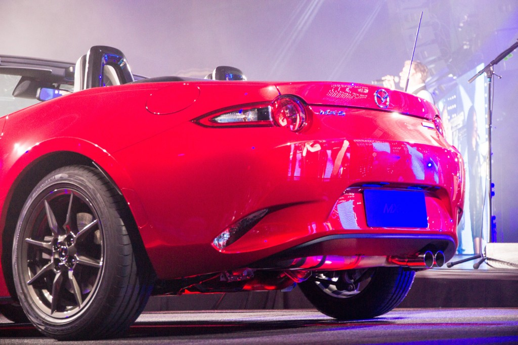 Fantastic 2016 Mazda MX5 Miata Unveiled Live Photos Amp Video